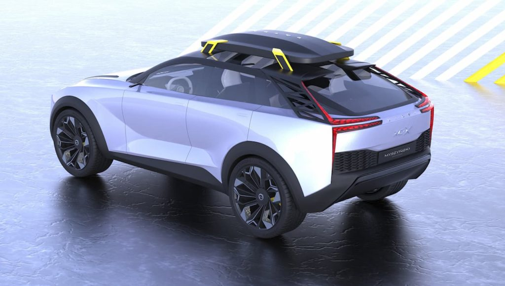 Volvo electric SUV unofficial rendering