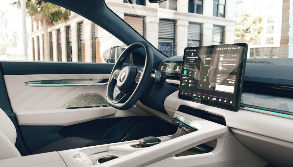 Zeekr 001 interior dashboard