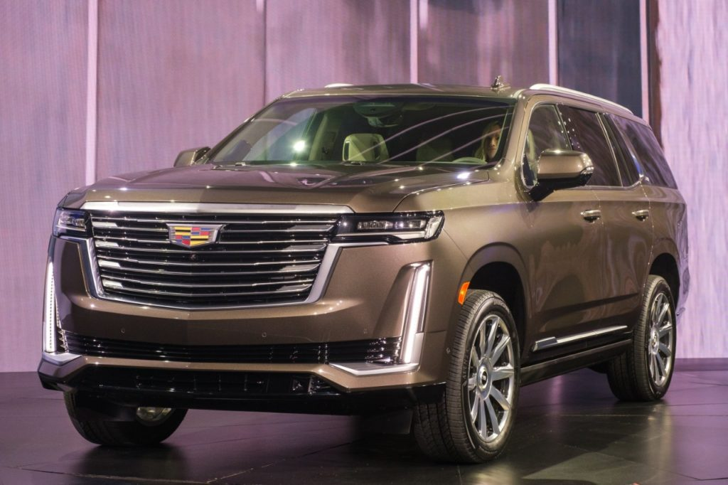 The Cadillac Escalade petrol model to sell alongside the Cadillac Escalade EV