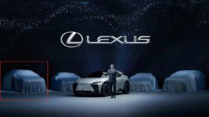 2022 Lexus RX teaser