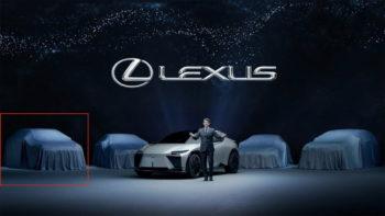 2022 Lexus RX teased during EV model presentation? [Update]