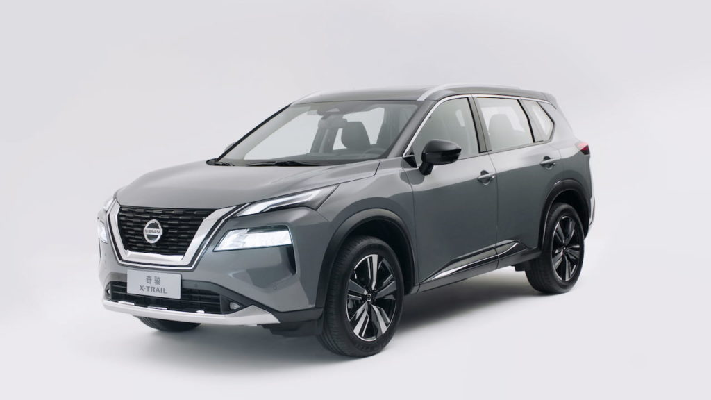 2022 Nissan X-Trail e-Power front three quarters
