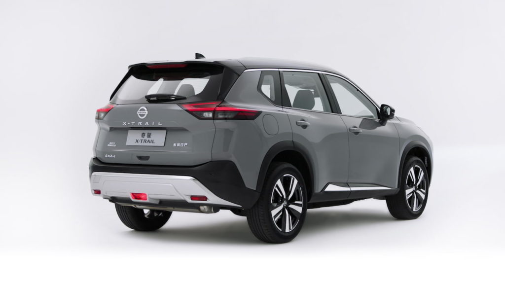 2022 Nissan X-Trail e-Power rear three quarters