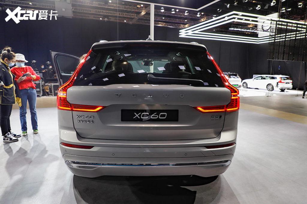 2022 Volvo XC60 (facelift) rear