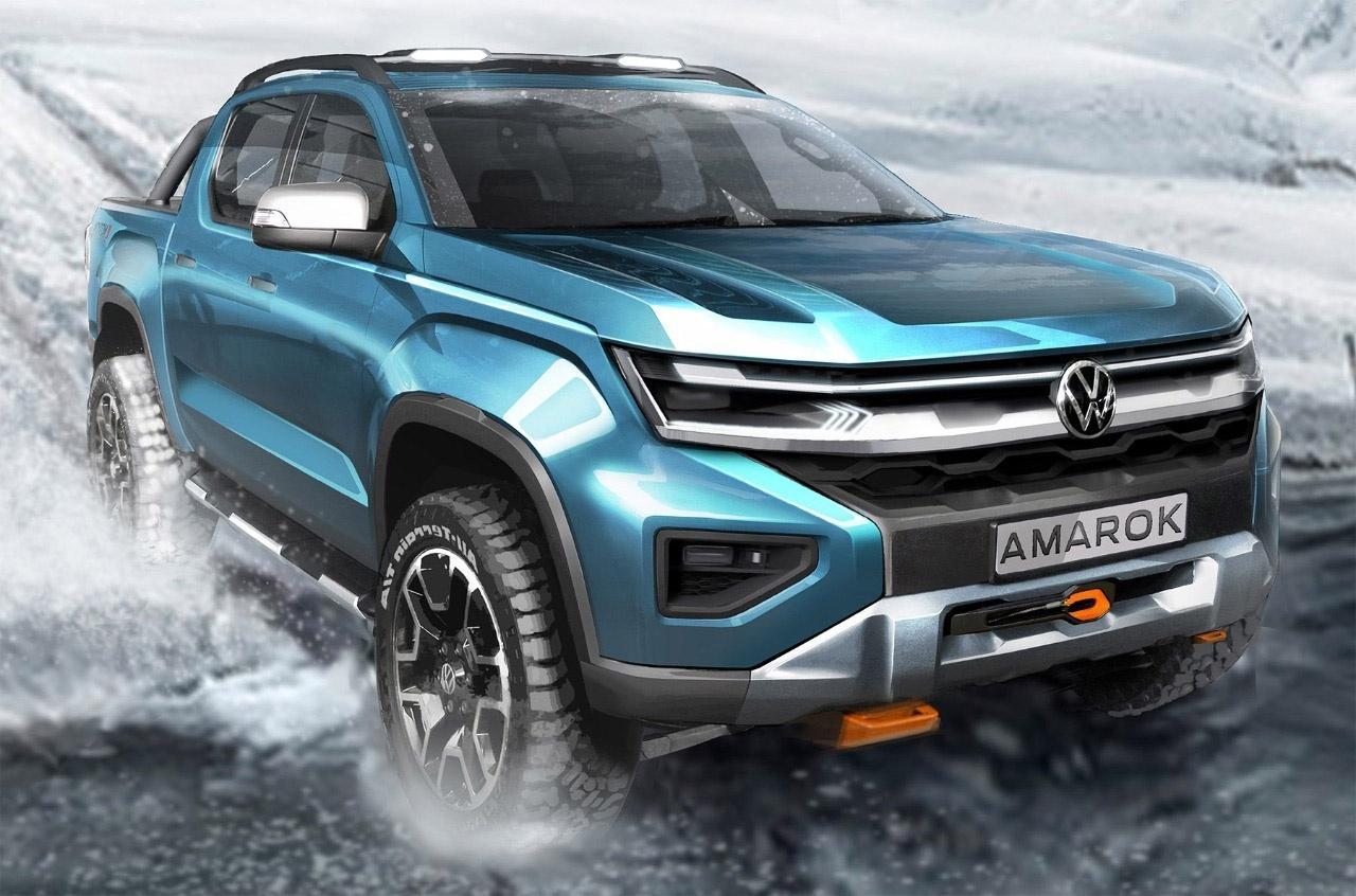 2023 VW Amarok official sketch