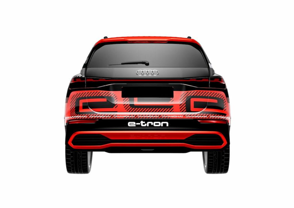 Audi concept Shanghai rear three quarters