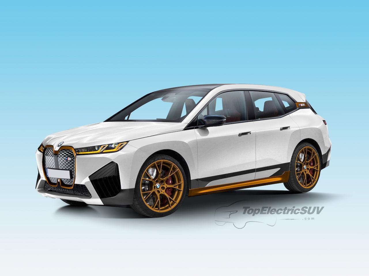 BMW iX M60 variant render