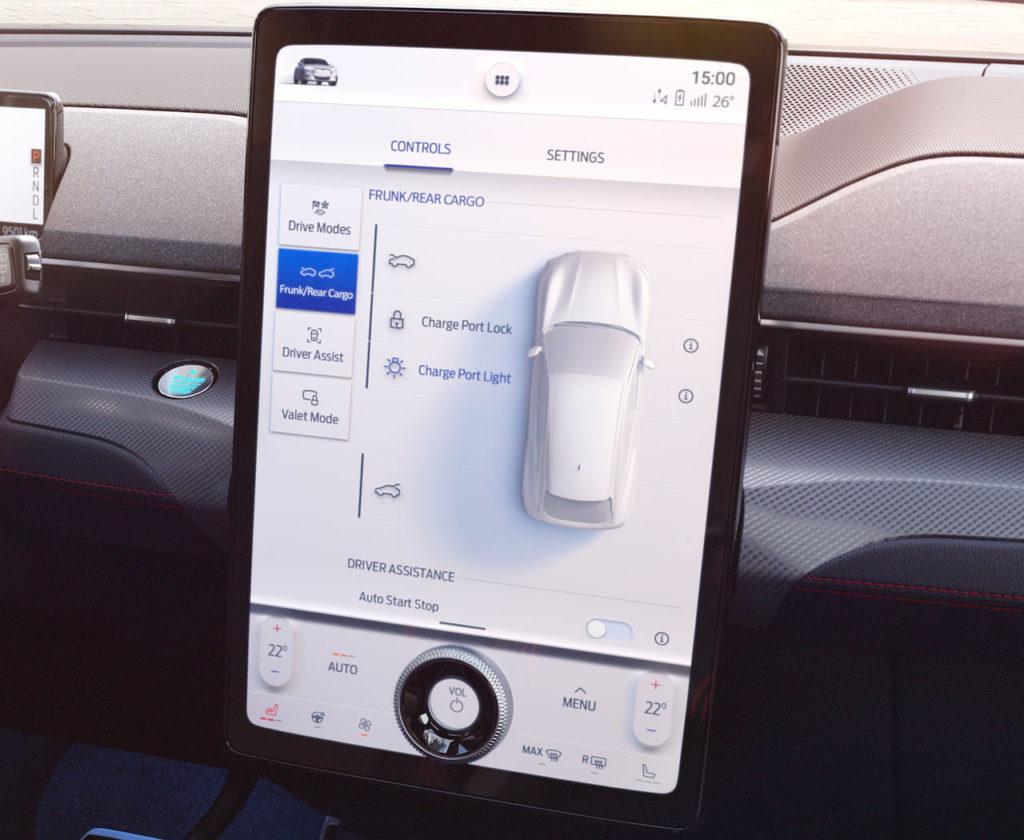 Ford touchscreen infotainment