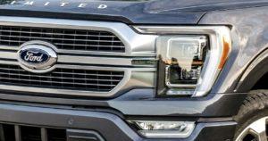 Ford truck headlight