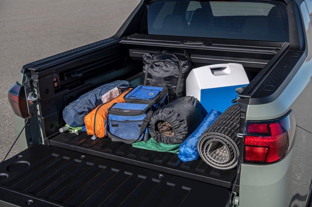 Hyundai Santa Cruz bed