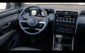 Hyundai Santa Cruz interior