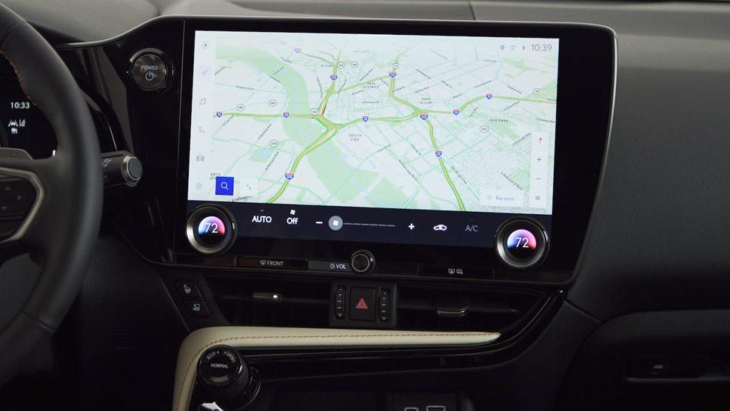 Lexus Interface infotainment system