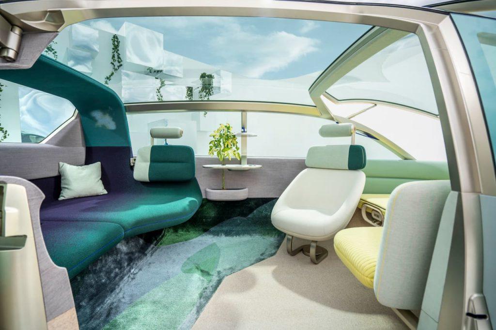 MINI Urbanaut concept rear seats
