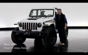 Mark Allen, Head of Jeep Design with the Jeep Magneto
