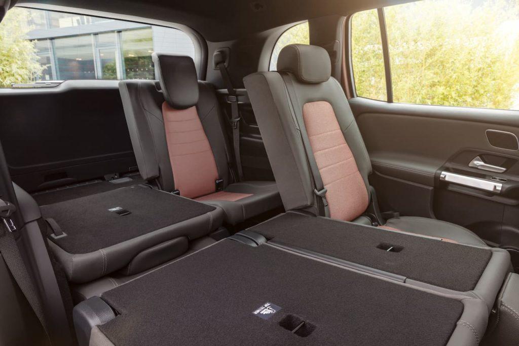 Mercedes EQB third-row seats