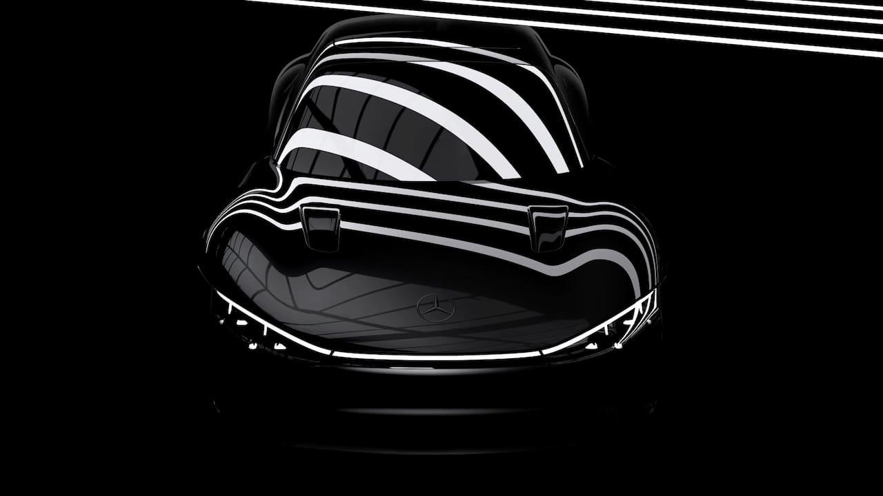 Mercedes EQXX teaser