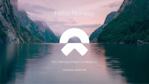 Nio Norway launch announcement