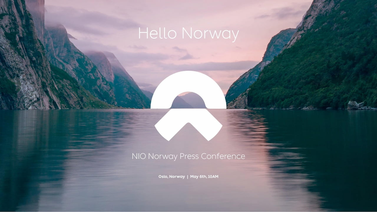 Nio Norway launch announcement