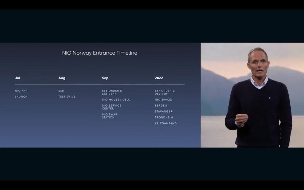 Nio Norway launch release plan