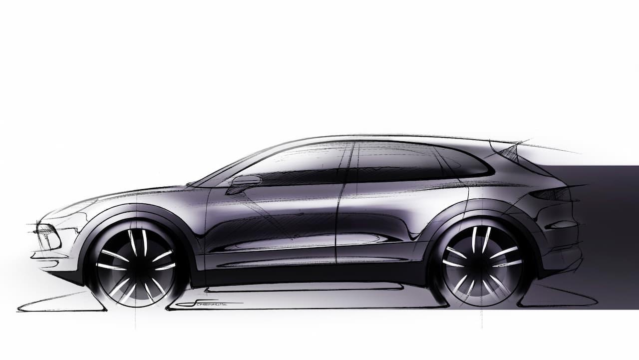Porsche Cayenne sketch
