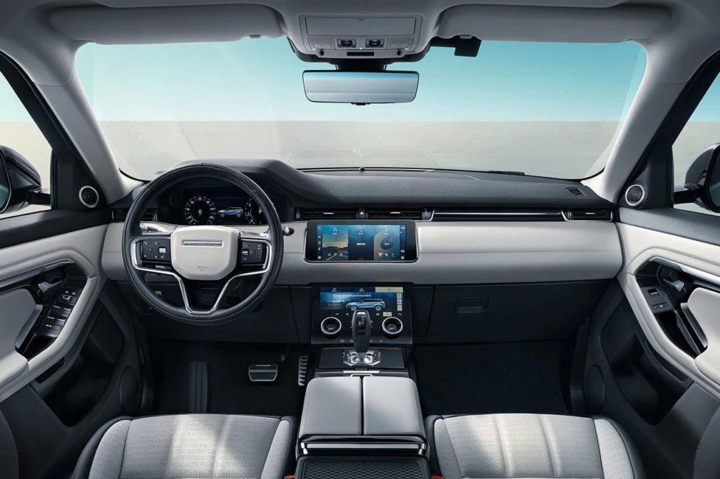 Range Rover Evoque L interior dashboard