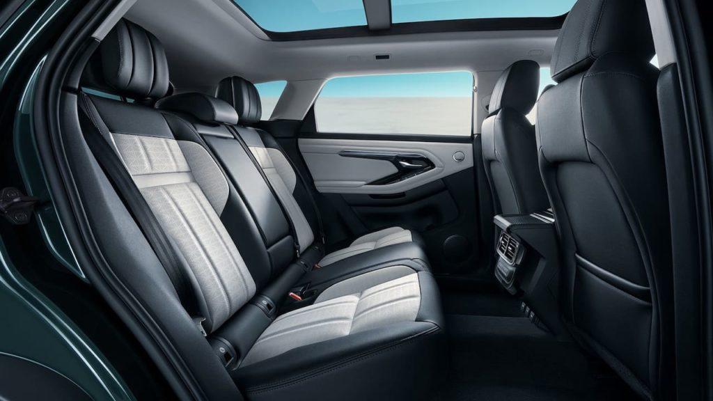 Range Rover Evoque L rear seats