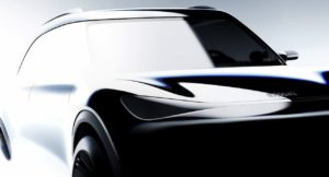 Smart Electric SUV front official teaser