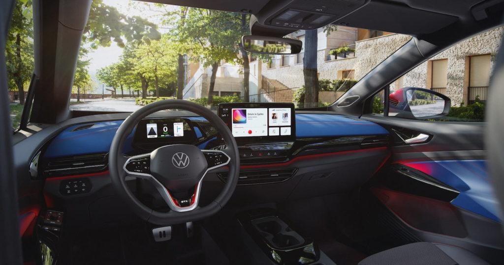 VW ID.4 GTX interior dashboard