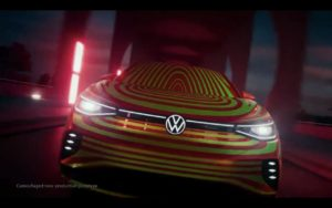 VW ID.5 front teaser