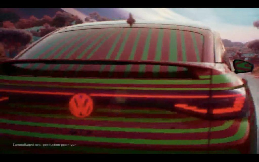 VW ID.5 rear teaser
