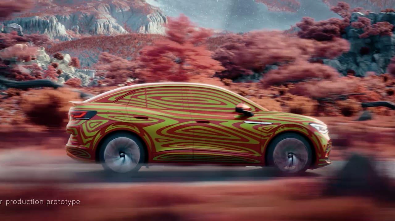 VW ID.5 side teaser image