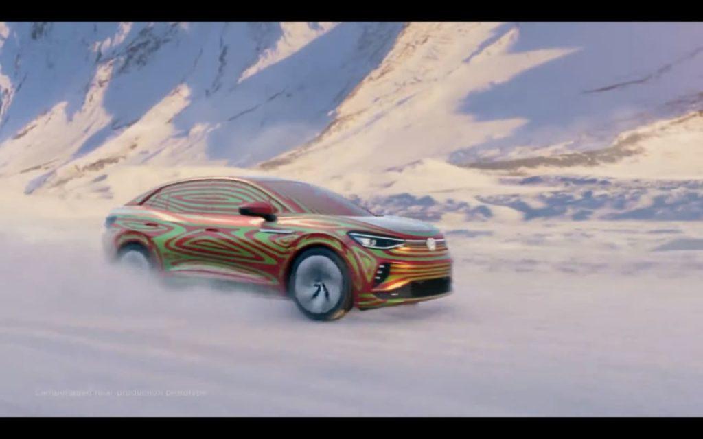 VW ID.5 teaser