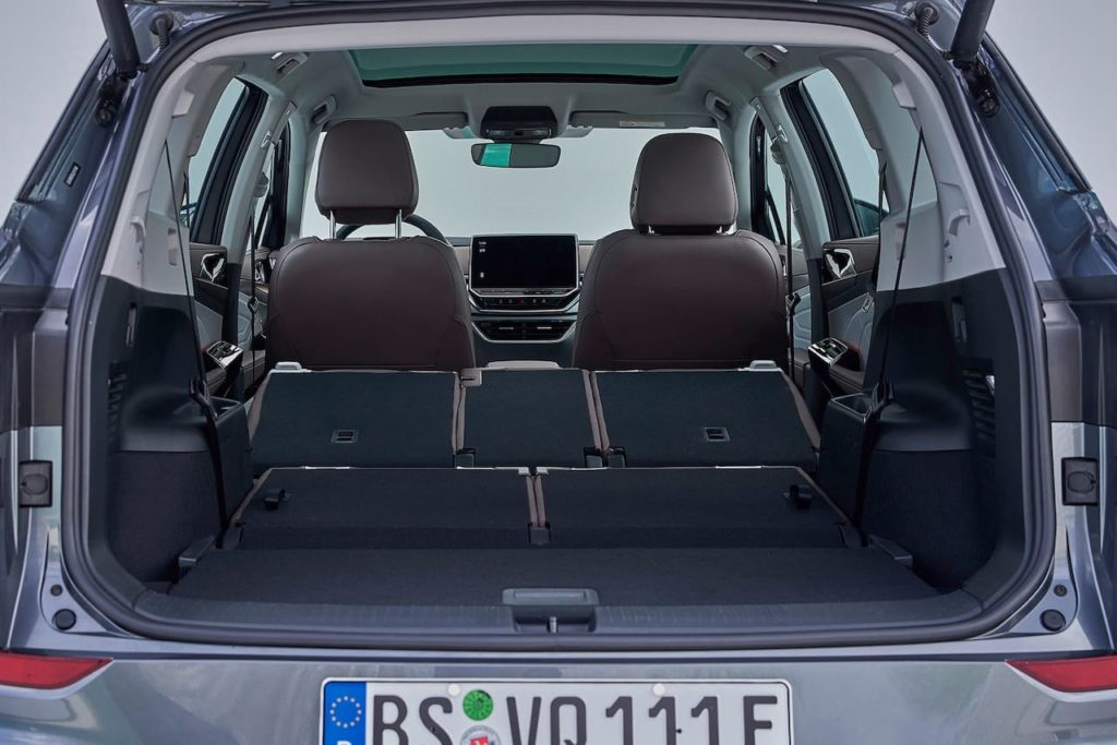 VW ID.6 trunk boot