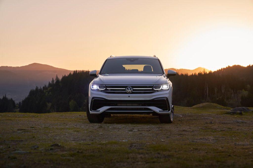 2022 VW Tiguan Allspace facelift front