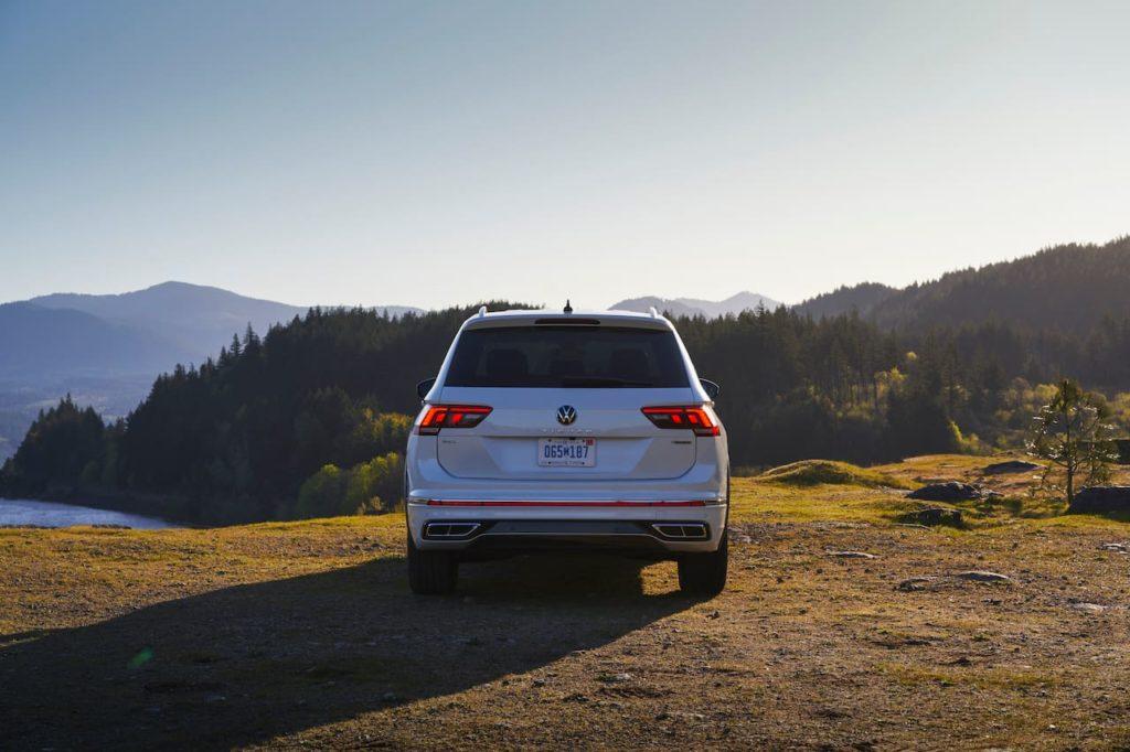 2022 VW Tiguan Allspace facelift rear