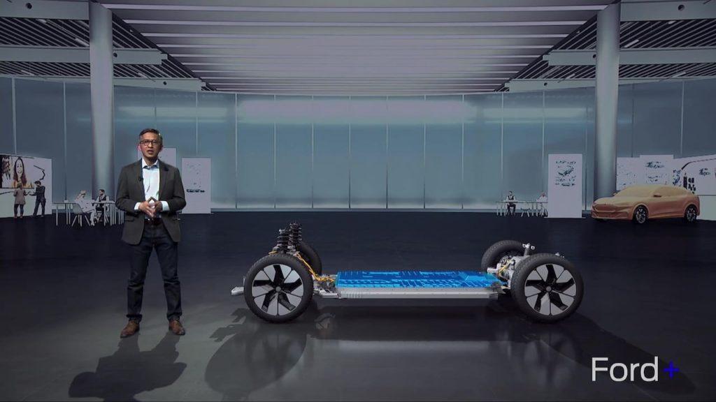 Ford Explorer EV platform