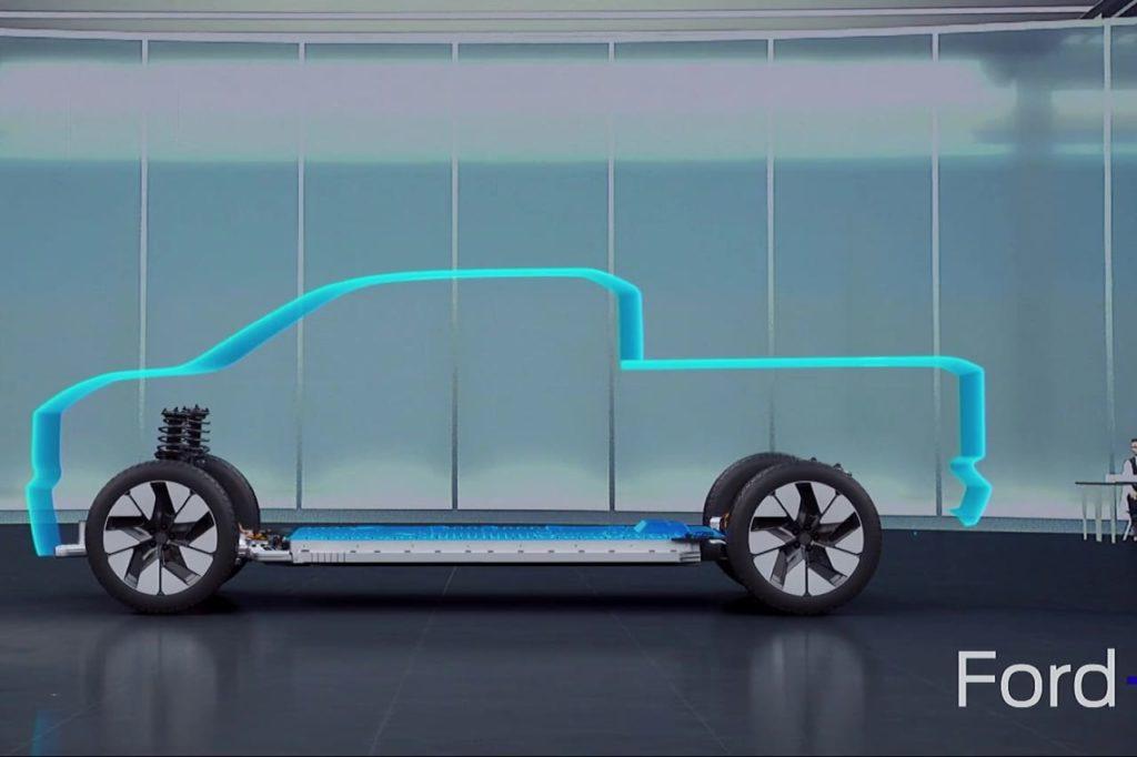 Ford Ranger EV teaser