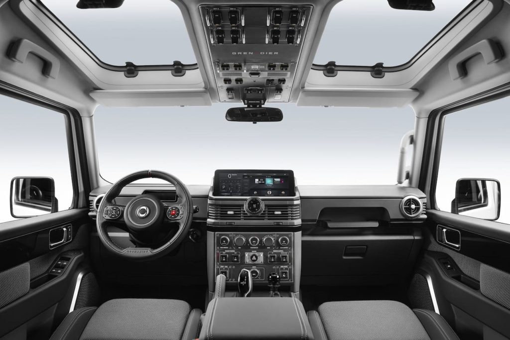 Ineos Grenadier interior dashboard
