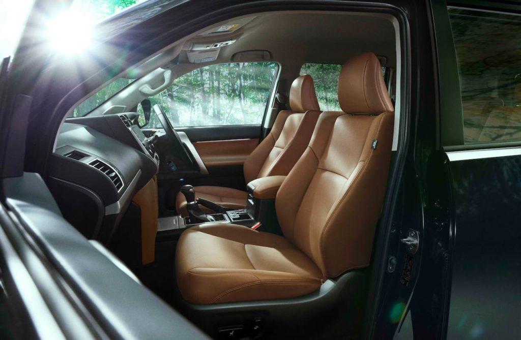 New Toyota Land Cruiser Prado 70th Anniversary Limited TX L interior