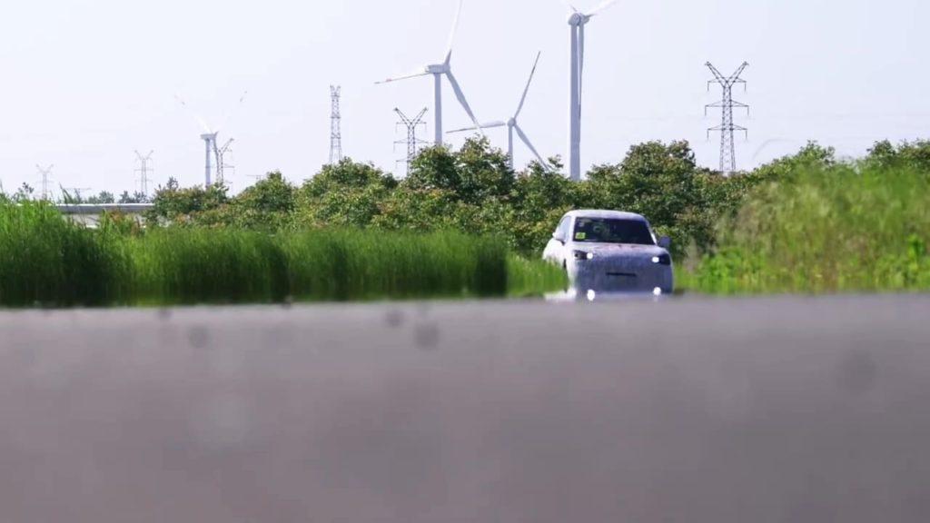 Smart electric SUV prototype