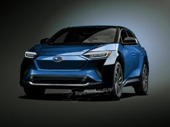 Subaru Electric Car 'Solterra' isn't an electrified Forester [Update]