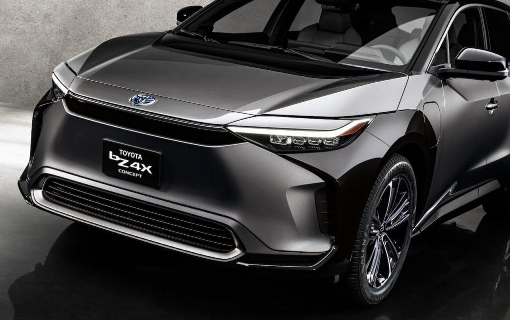 Toyota BZ4X front USA spec