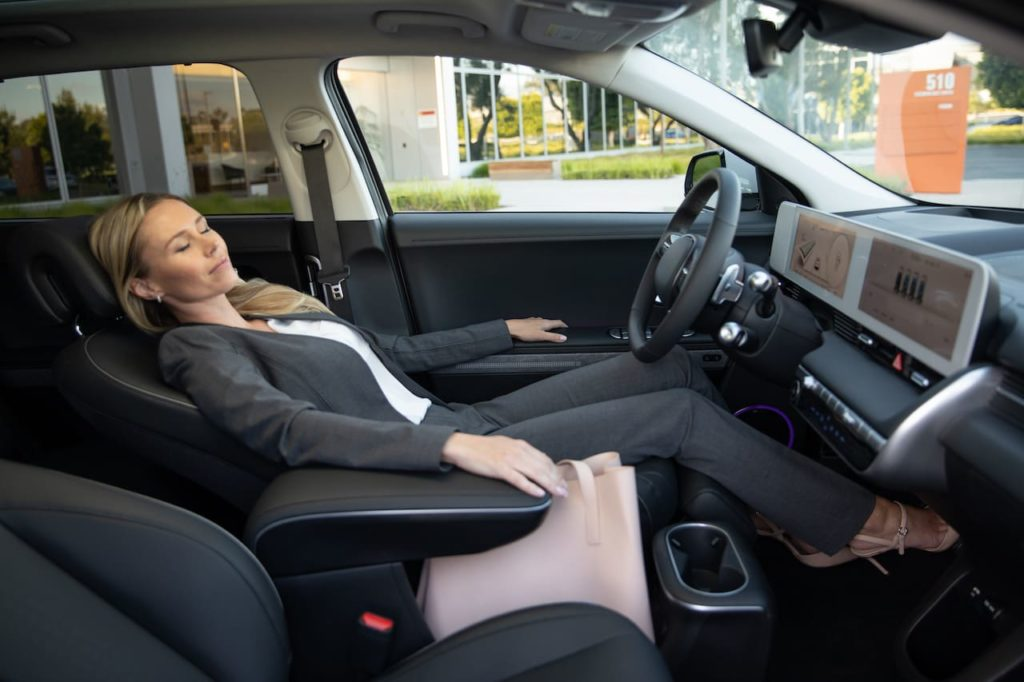 US-spec Hyundai Ioniq 5 interior dashboard