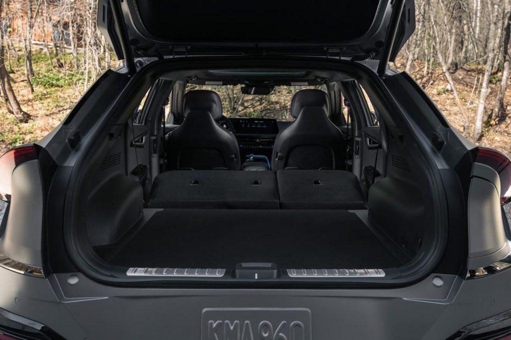 US-spec Kia EV6 trunk boot