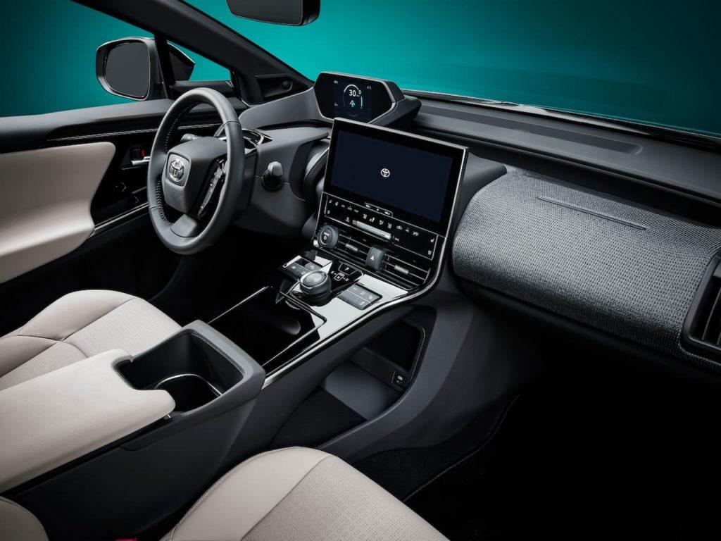 US-spec Toyota bZ4X interior