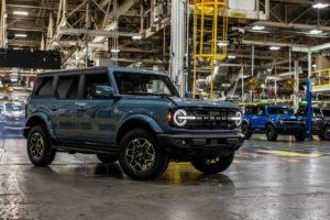 2021 Ford Bronco 4-door U725 SOP