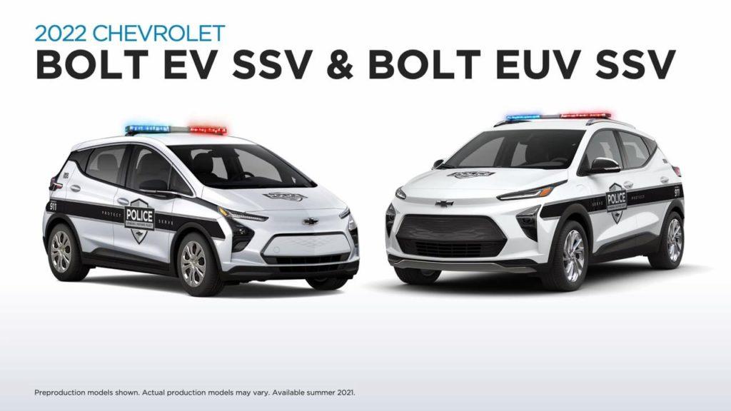 2022 Chevrolet Bolt EV SSV 2022 Chevrolet Bolt EUV SSV