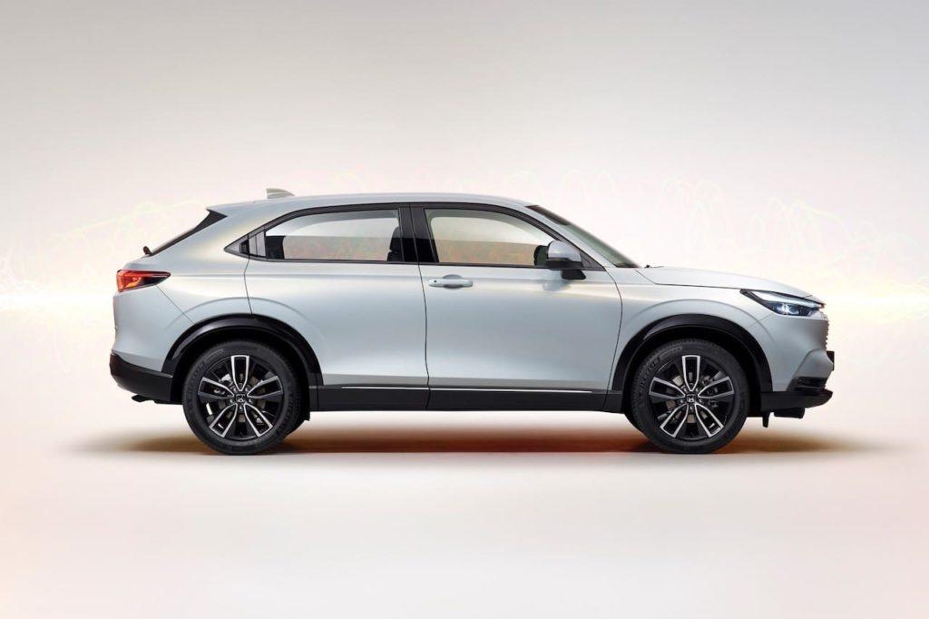 2022 Honda HR-V side profile