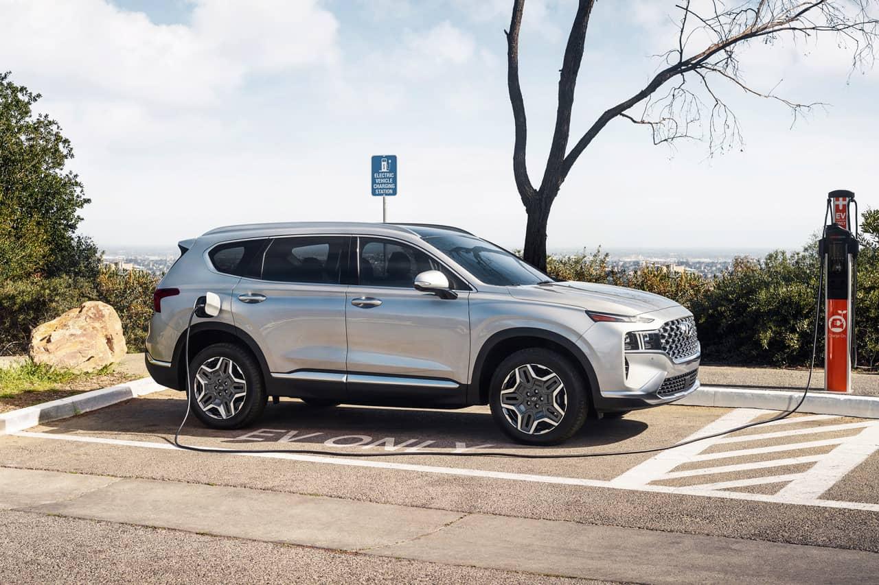 2022 Hyundai Santa Fe PHEV charging