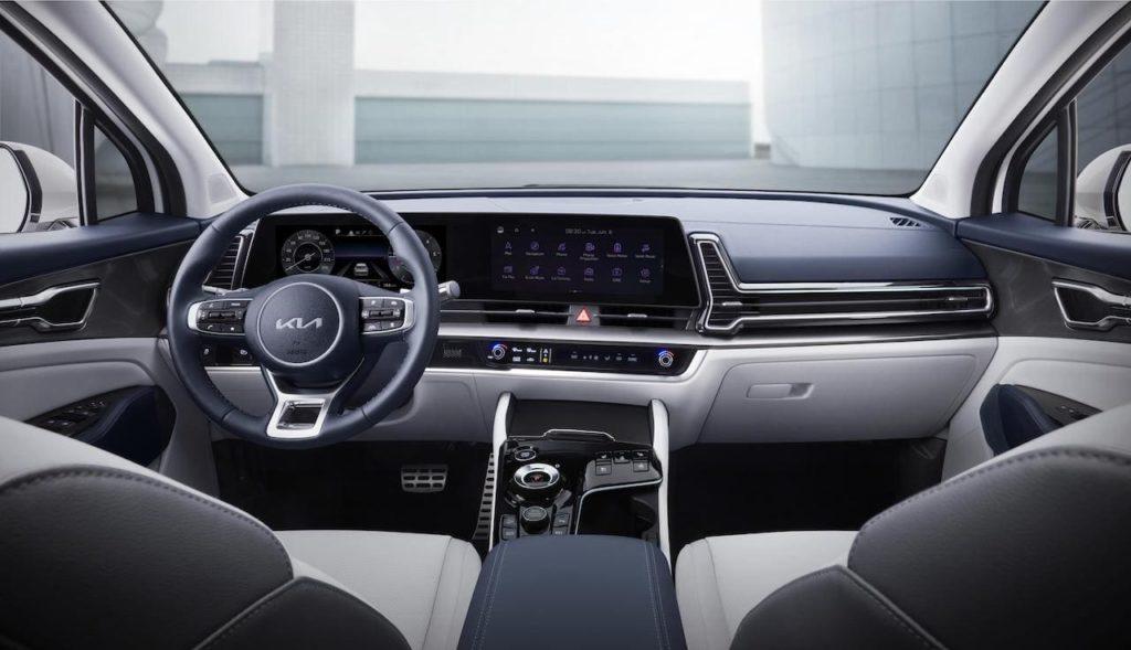 2022 Kia Sportage NQ5 interior dashboard